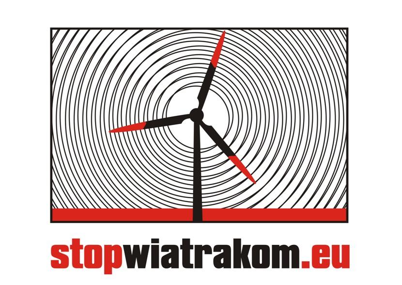 logo stop wiatrakom mini